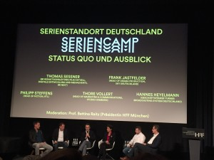 Diskussionen am Professional Day