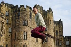 Besenflugstunde in Alnwick Castle alias Hogwarts