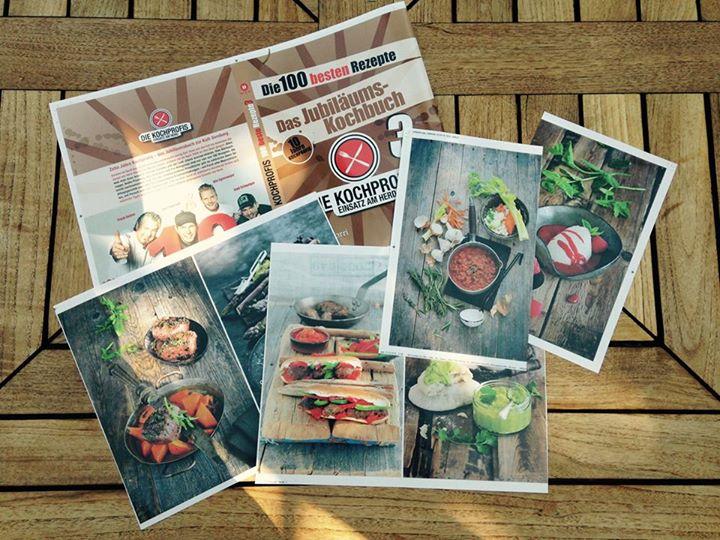 """Aushänger Kochbuch """"Die Kochprofis 3"""" von tre torri"""