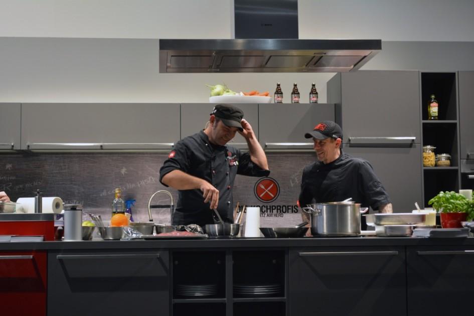 Showcooking mit Ole Plogstedt in der Kochprofis-Küche