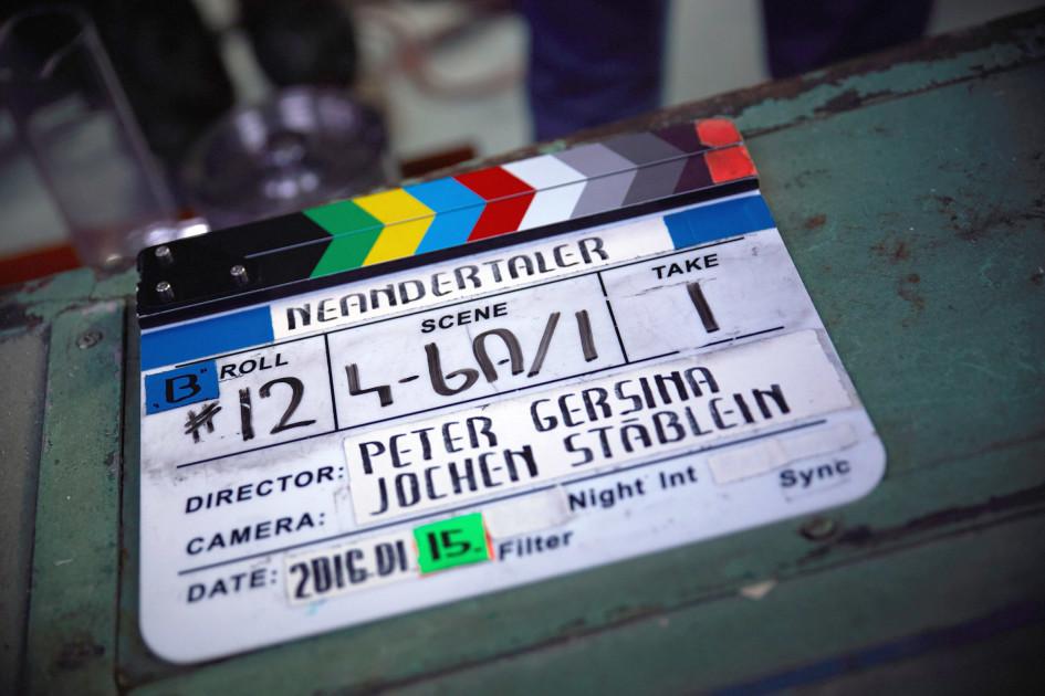 Filmklappe zur neuen RTL II-Produktion