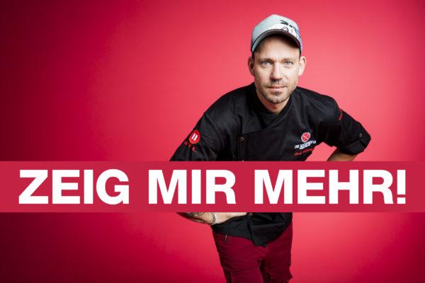 ZEIG MIR MEHR! - Kochprofi Andi Schweiger mit dem neuen RTL II-Claim