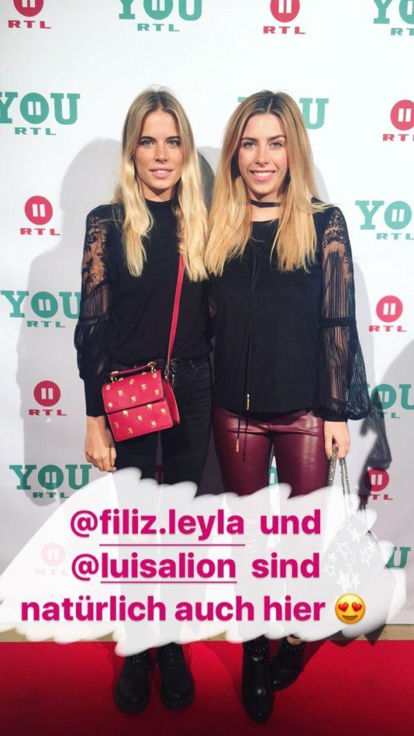 Fotowand muss sein: Filiz und Luisa aus der MJUNIK-WG