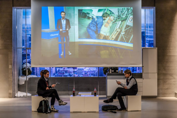 Comödie Dresden: Die RTL II News setzen das Drama in Gang. Foto: Robert Jentzsch | www.rjphoto.de