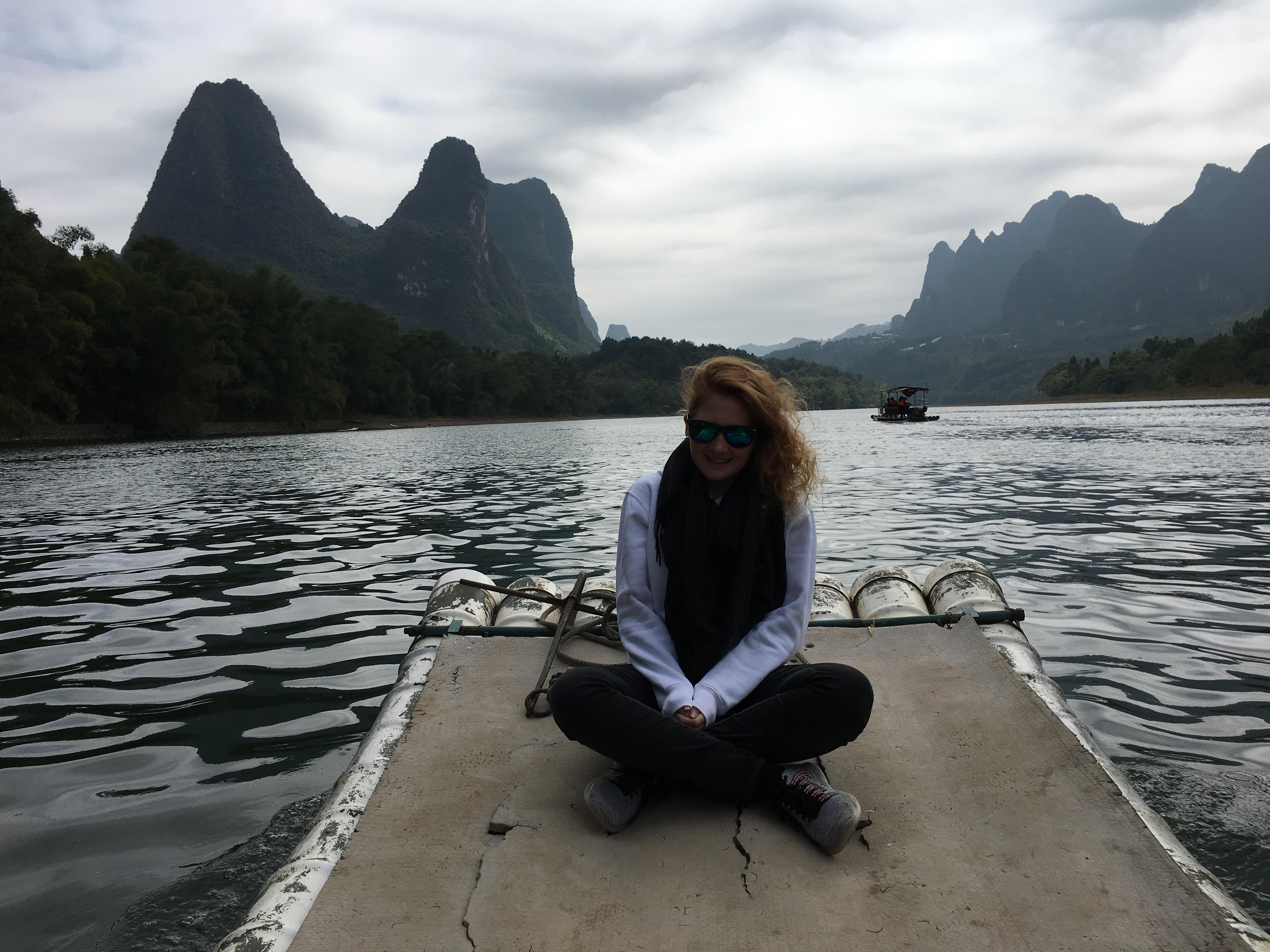 Bambusbootfahrt_Li River_Guilin