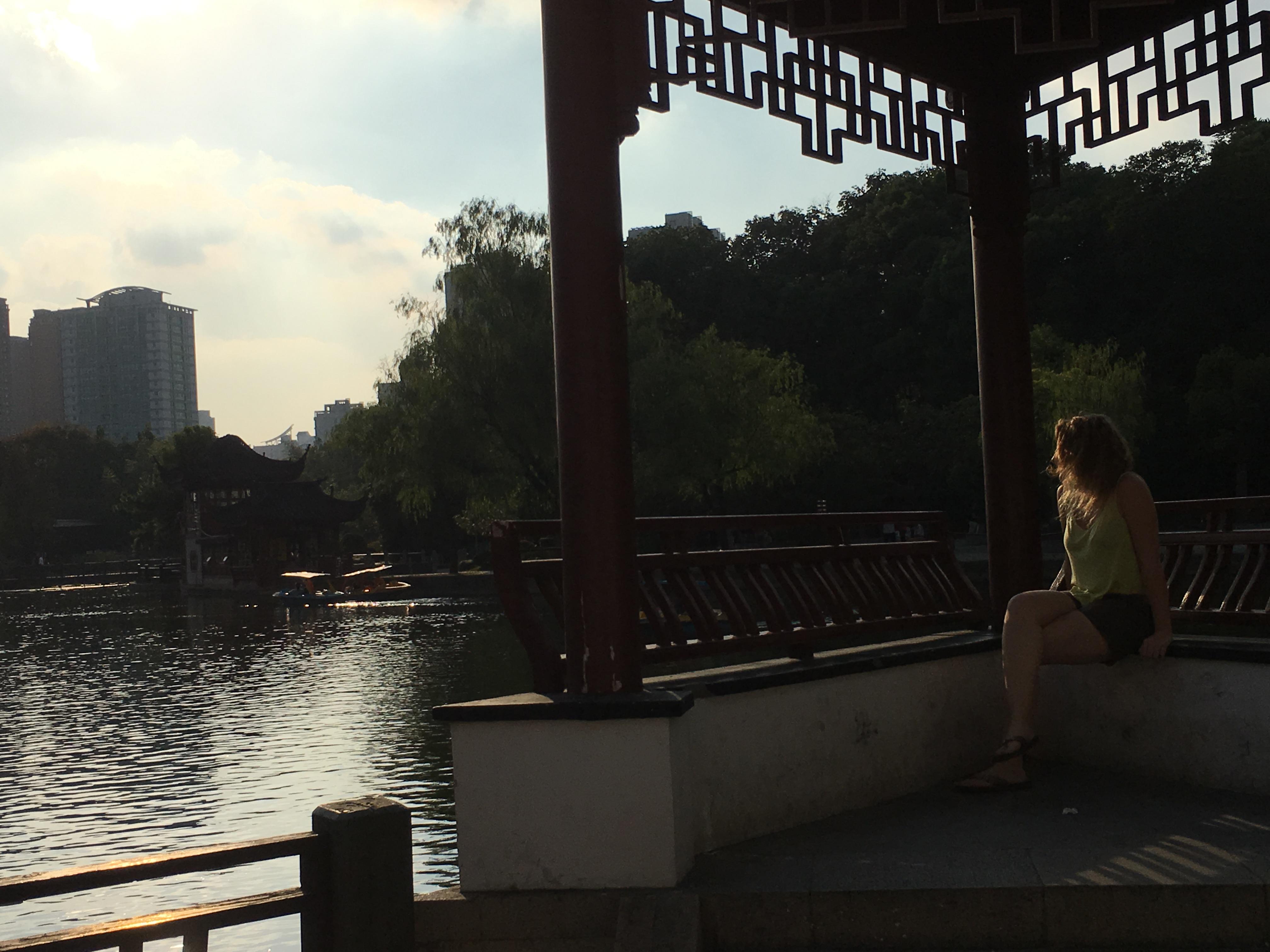 Typisch chinesischer Garten