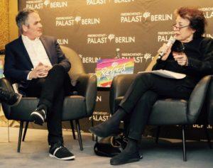 Berndt Schmidt und Lea Rosh