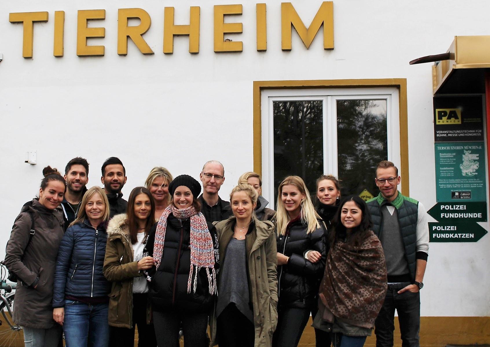 Social-Day-Tierheim-Gruppe