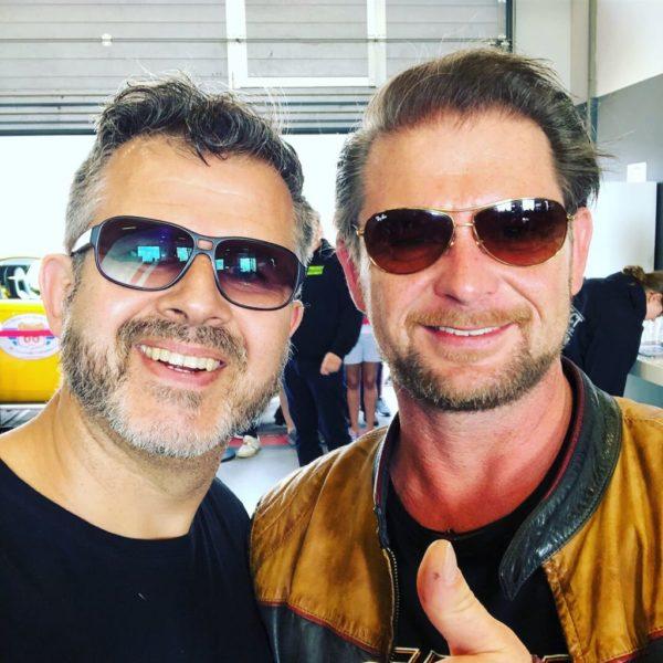 Carlos Zamorano (links) mit GRIP-Moderator Det Müller