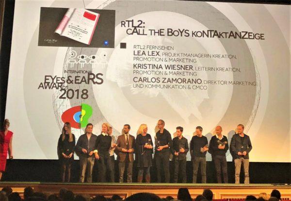 Einer von zwei Gold-Awards: Call the Boys Kontaktanzeige