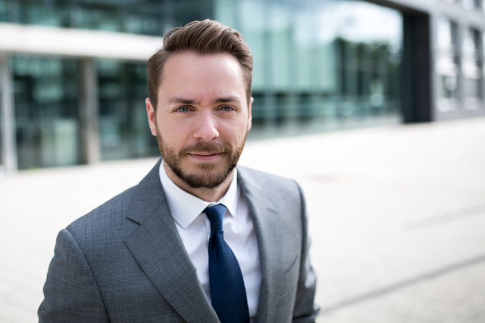 Andrew McCormack, Pressesprecher Polizeipräsidium Frankfurt am Main