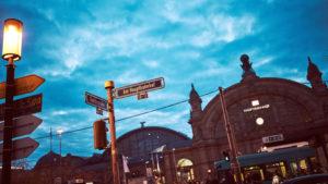 Erneuter Blick auf das Frankfurter Bahnhofsviertel.