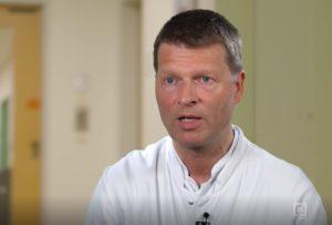 Dr. Joachim Suß, Chefarzt der Abteilung Kinderchirurgie