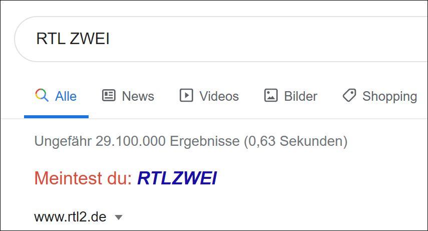 Google stellt die richtige Frage