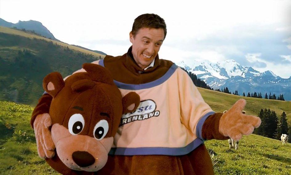 """Pascal Jenny, Präsident Arosa Tourismus, ist Gaststar von RTLZWEI beim Schweizer TV-Tag """"Screen Up""""."""