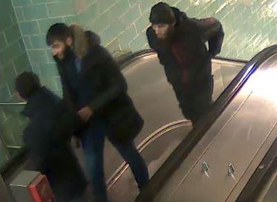 Brutale Gewalt in Berliner U-Bahnhof Gesundbrunnen.