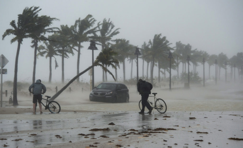 "Hurrikan ""Irma"" wütet weiter."